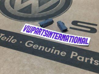 VW Golf MK3 VR6 GTI TDI Front Seat Locking Pins Retainer Clips Genuine New VW OEM Parts