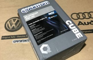 VW Golf MK2 MK3 VR6 R32 5W 40 Engine Oil Quantum Platinum Cube New OEM Part Ecological Packaging