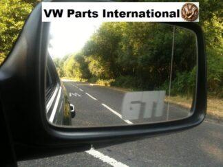 GTI Etched Wing Mirror Decal x2 VW Golf MK1 MK2 MK3 MK4 MK5 MK6 MK7 GTI 8v 16v