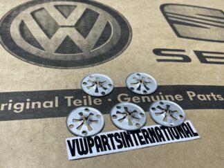 VW Audi Seat Skoda Under Tray Exhaust Heat Shield Fixing Clip Nut Genuine OEM Parts