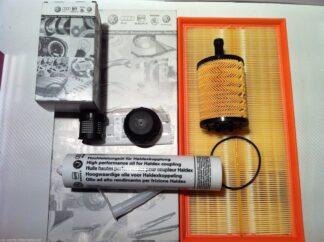 VW Golf MK4 R32 Service Kit Haldex Oil Filter + Haldex Oil + Engine Air Filter+ Engine Oil Filter Genuine OEM VW Parts