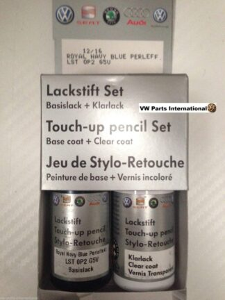 Galactic Blue LG5V Royal Navy Blue Genuine VW Touch Up Paint Audi Seat Skoda Scratch Chip Repair
