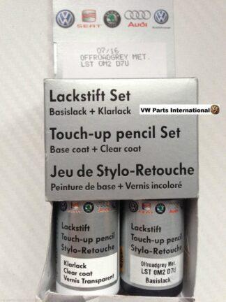 Off Road Grey LD7U Genuine VW Touch Up Paint Audi Seat Skoda Scratch Chip Repair