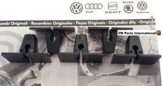 VW Golf Vento MK3 VR6 GTI 8v 16v Sill Cover Fixing Clips Raw Plugs x5 Genuine OEM VW Parts
