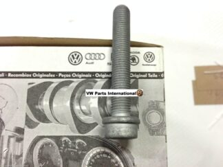 Audi A4 S4 RS4 Rear Brake Caliper Carrier Bolt Lower X1 Genuine New VW Audi OEM Parts