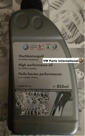 Audi Haldex Oil