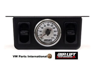 Dual Needle Gauge with two paddle switches 200 PSI - Air Lift Performance