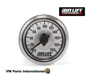 Dual Needle Gauge- 200 PSI - Air Lift Performance Air Ride Suspension Parts
