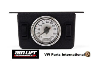 Dual Needle Gauge Panel with two switches 200 PSI - Air Lift Performance