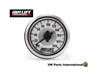 Single Needle Gauge 200 PSI - Air Lift Performance Air Ride Suspension Parts