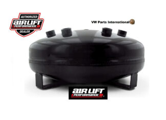 """Air Lift Performance 4 Gallon Pancake Air Tank Spare Tyre Well Tire Air Tank 8"""" H x 16"""""""