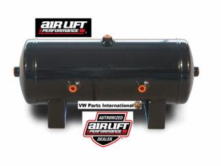 """Air Lift 2 Gallon Air Tank 6"""" x 17"""" 4x 1/4"""" & 2x 3/8"""" Ports Air Suspension Tanksmallest size!"""