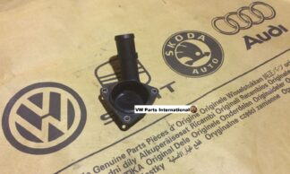 VW GOLF MK4 R32 Thermostat Adapter Cover Genuine New Volkswagen OEM Part 022121121E