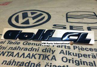 VW Golf MK3 CL Rear Badge Boot Tailgate Genuine New OEM VW Part