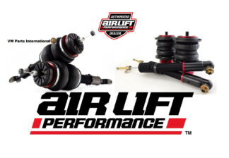 Audi A6 S6 RS6 C6 Air Lift Front & Rear Performance Kit New Air Ride Suspension