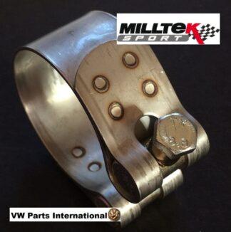 Milltek Sport Exhaust Clamp Ø83mm For Milltek 83mm System Pipe & Trims Tail Tips