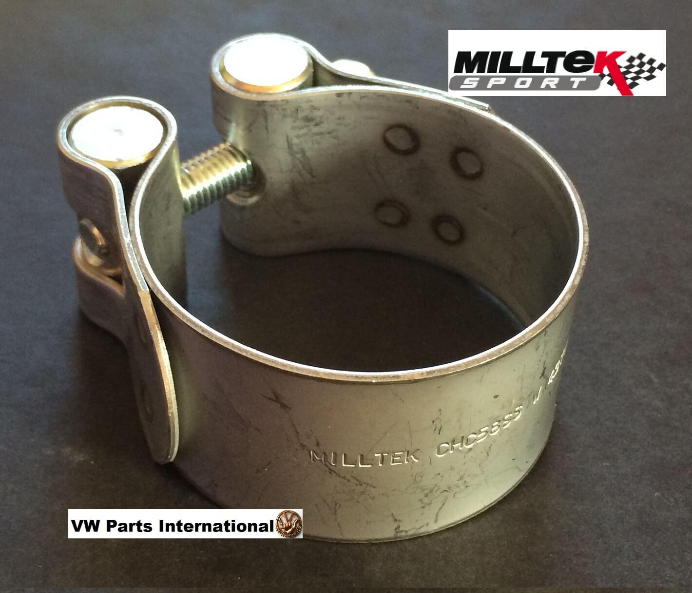 Milltek Sport Exhaust Clamp Ø54mm For Milltek 54mm System Pipe & Trims Tail Tips