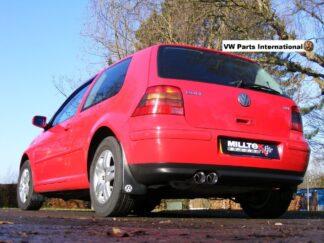 VW Golf MK4 GTI Milltek