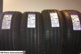 4x Goodyear Eagle F1 Asymmetric 3 225:40R18 92Y VW Golf MK4 R32 18inch New Tyres
