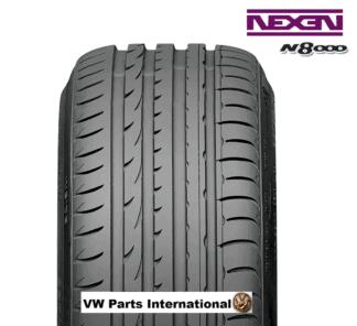 4x Nexen N8000 17inch Tyres 225:45 R17 94W XL VW Golf MK4 GTI