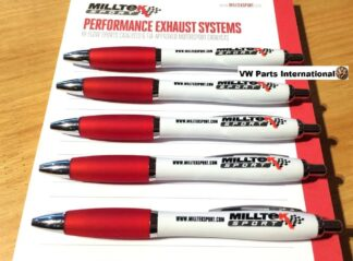 5x Milltek Sport Exhaust Writing Pen