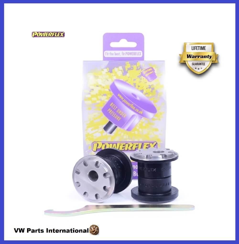 VW Golf MK7 R GTI GTD TSI TDI Powerflex Camber Adjustable Front Wishbone Control Arm Front Bushes PFF85-501G