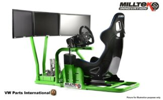 Milltek Innovation Ultimate Racing Gaming Simulator Virtual Reality *For 3x Screen - Frame Only*