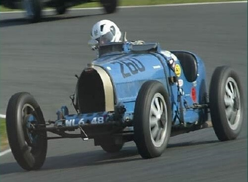 Old Race Car - More camber or less