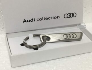 Audi A1 A2 A3 S3 RS3 RS4 RS6 Genuine Audi Keyring Key Fob Key Ring Original Accessory_pic1