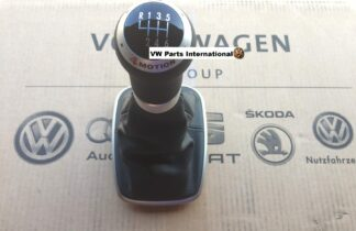 VW Golf MK4 R32 4Motion Gear Knob and Leather Gaiter Genuine Rare OEM VW Part