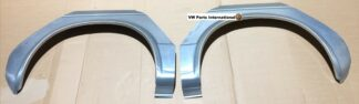 VW Golf MK1 Left & Right Rear Wheel Arch Sidewall Outer Section Repair Panels 2DR New Parts