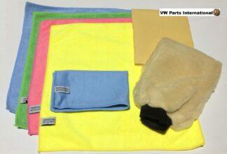 Professional Detailing Pack Car Wash Microfibres Washmit Chamois Golf MK4 MK5 R32 MK6 MK7 Scirocco R