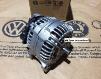 VW Golf MK4 MK5 R32 MK6 MK7 Scirocco R Alternator Genuine New OEM VW Part