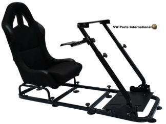 Gaming Racing Simulator Frame Chair Bucket Seat For Virtual Reality Game PC PS3 PS4 XBox (Black)
