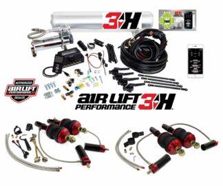 Audi R8 Quattro Spyder GT Plus V10 Air Lift Performance 3H 14 Management + Front & Rear Air Suspension Struts Bags Kit
