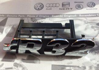 VW Golf MK4 R32 Chrome Grill Badge R32 Logo Inscription Genuine New OEM VW Part
