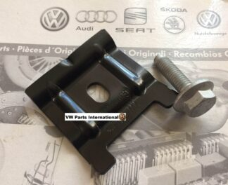 VW Golf MK4 R32 GTI TDI 1.8T Battery Clamp With Bolt Genuine OEM VW Parts
