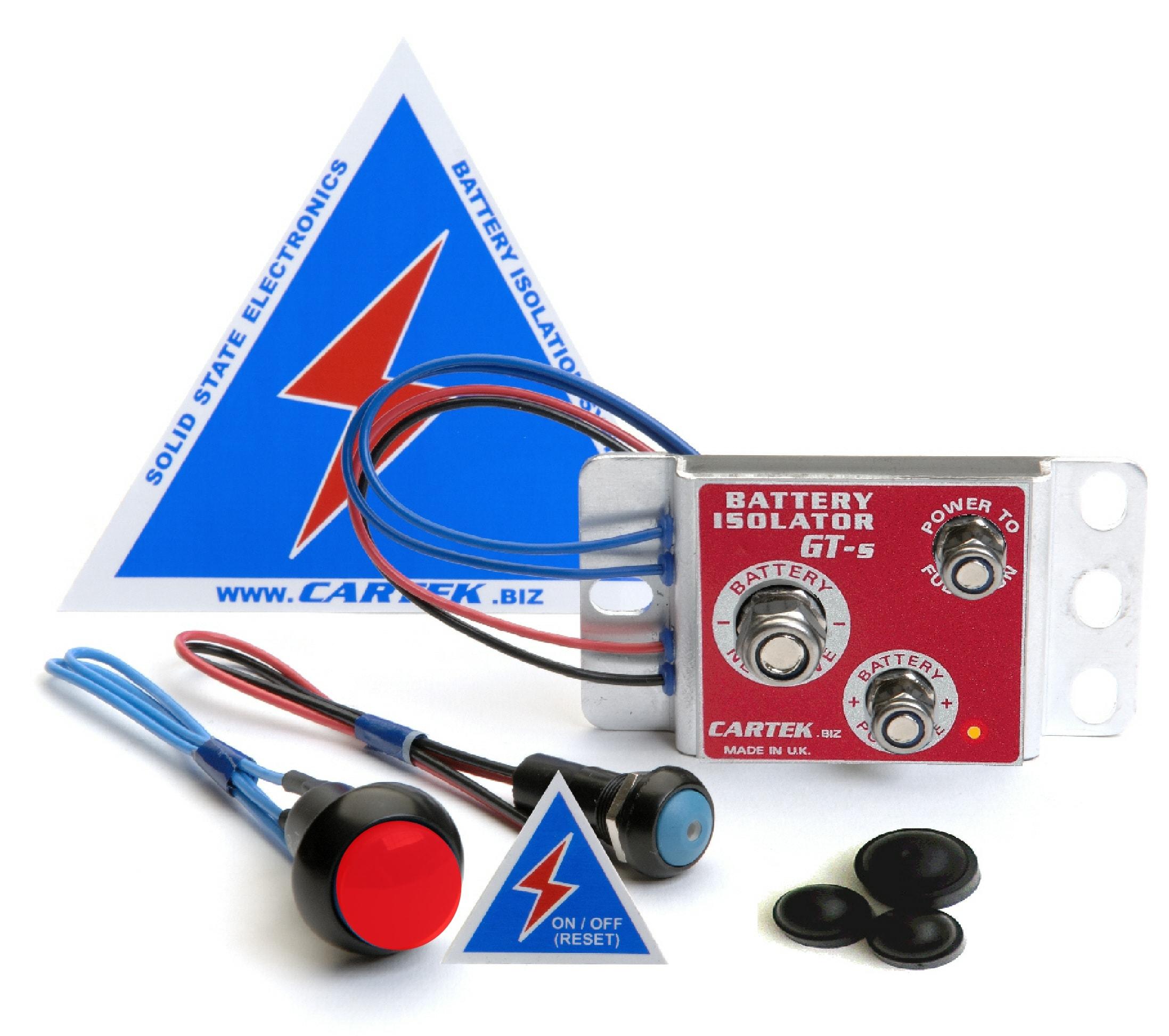 CARTEK GT kit Red button