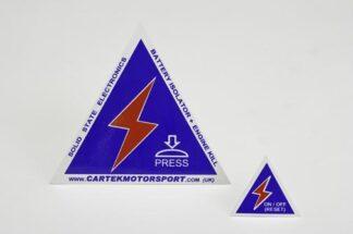 CARTEK Stickers Pack 50725