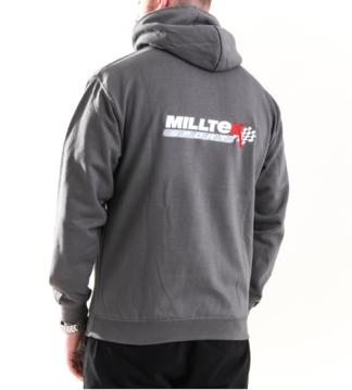 Official Milltek Sport Grey Hoodie Merchandise Clothing VW Audi Seat Skoda R R32 TSI TFSI TDI GTI TTRS RS3 RS6