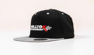 Official Milltek Sport Snap Back Baseball Cap Merchandise Clothing VW Audi Seat Skoda R R32 TSI TFSI TDI GTI