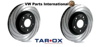 Pair Tarox F2000 Performance Brake Disc Upgrade