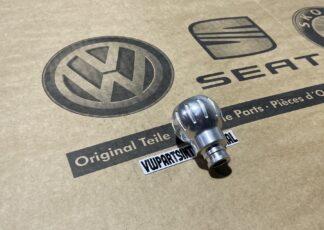 VW New Beetle RSI Silver Aluminium Gear Knob Shift Stick Genuine OEM NOS Part 1C9711141A