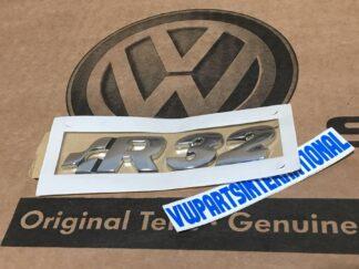 VW Golf MK4 R32 Badge Logo Emblem for Boot Tailgate or Engine Cover Genuine OEM NOS Part