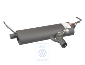 VW New Beetle RSI Rear Exhaust Silencer Genuine OEM NOS Part 1C9253609A
