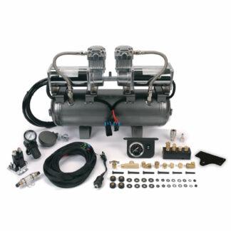 Viair 150 PSI High Speed 2on2 400C Compressor Kit Car Tyre Inflator Air Ride 4x4