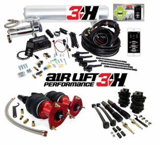 Audi A4 A5 RS B9 Air Lift Performance Kit + 3H Management 53mm Strut w/ Rears