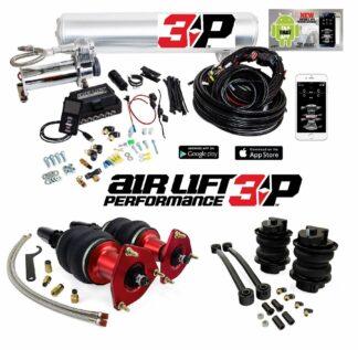 Audi A4 S4 B9 Air Lift Performance Kit with 3P Digital Management 48.5mm Struts