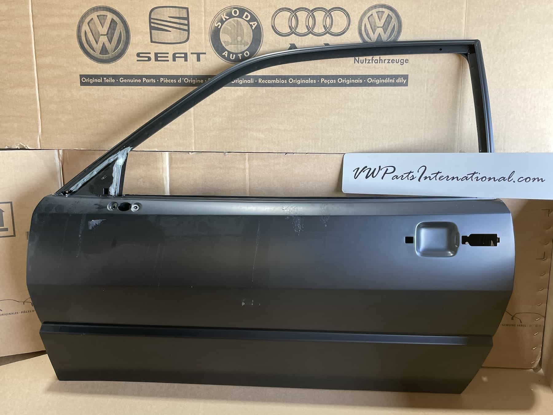 VW Corrado 1.8 G60 VR6 Front Left NS Replacement Door Brand New Genuine NOS OEM VW Part 535831051AN