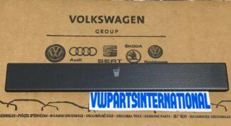 VW Golf MK4 Black Anthracite Net Optic Cupholder Face Plate Cover Lid Genuine OEM VW Part